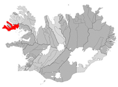 Situation de Vesturbyggð.