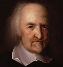 Thomas Hobbes: portrait par John Michael Wright (National Portrait Gallery, Londres)