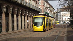 Image illustrative de l'article Tramway de Mulhouse