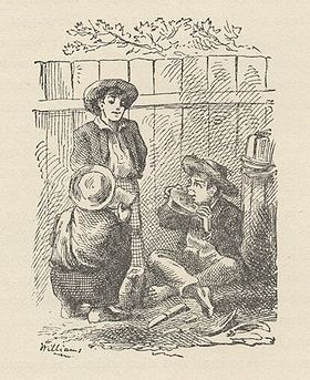 Illustration de Les Aventures de Tom Sawyer